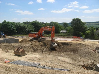 View Project  - Midas Homes - St Mabyn Groundworks - St Mabyn, Nr Bodmin