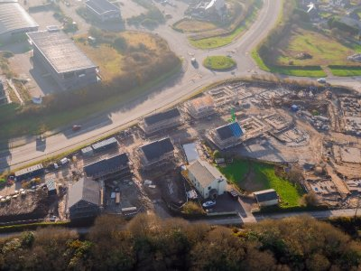 View Project  - Gilbert & Goode - Scredda, St Austell - 34 Dwellings